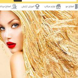 طراحی سایت آرایشگر