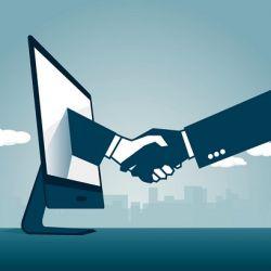 نقش طراحی سایت در تجارت الکترونیکی